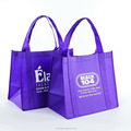 Factory price promotional reusable non woven printed shopping bag with reinforced handles