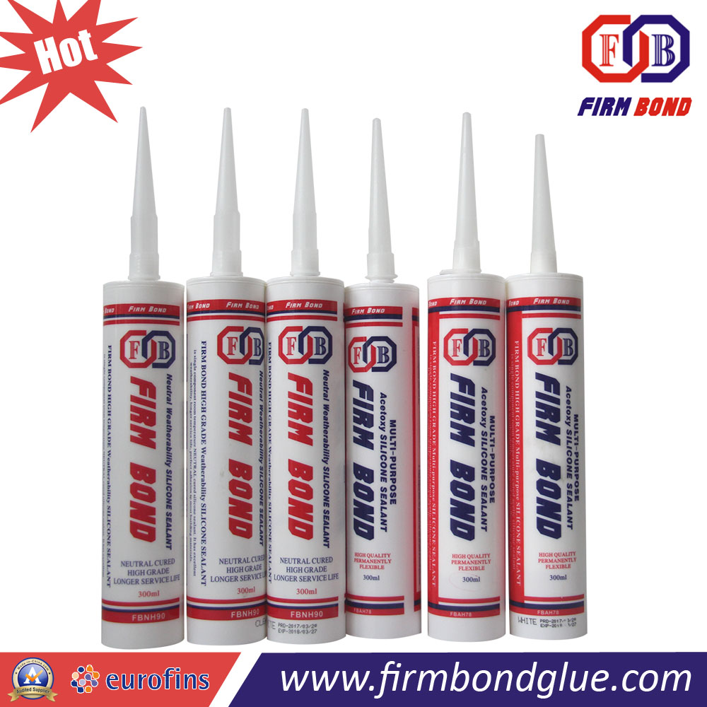 300ml Stone Material sealing Acetic Fungicide Silicone Sealant
