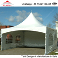 4x4m open pogoda tent with 3 sidewall for exhibition