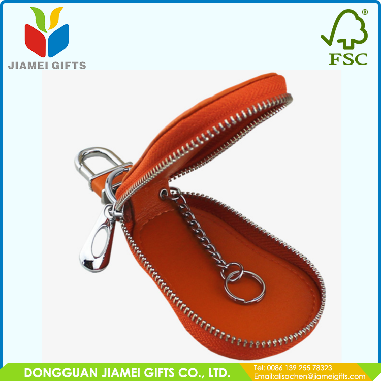 Custom logo personalized leather key ring manufacturer