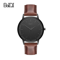 Baidi good quality stainless steel wristwatch mens watches wrist watch