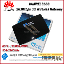 Original Unlock HSPA 28.8Mbps Huawei B683 3G Wireless Router With Sim Card Slot Support USB,RJ11,LAN Port And Voice Call