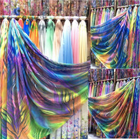 digital printing fabric ladies summer dress