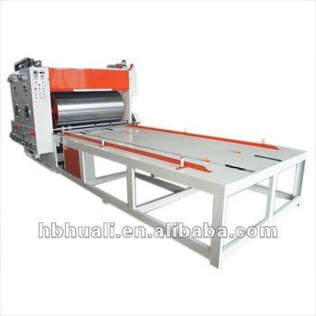 flexo printing machine for corrugated