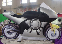 new product advertising Replicas inflatable motorcycle