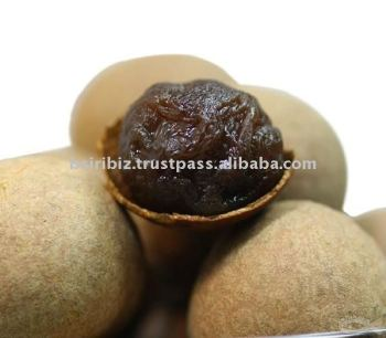 Dried longan with seed
