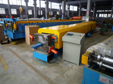 Rainwater Downpipe / Downspout Making Machine Cold Rolling Forming Bending Machine Supplier In China