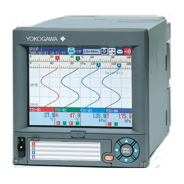 Intelligent user interface DX-1012 paperless recorder yokogawa recorder manufacturer