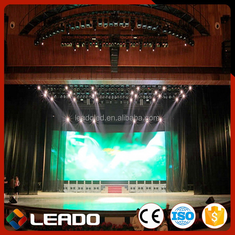 Bottom price High-ranking trailer rental full color led display