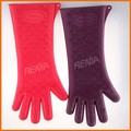 RENJIA heat resistant gloves waterproof heat and water resistant glove silicone gloves long sleeves