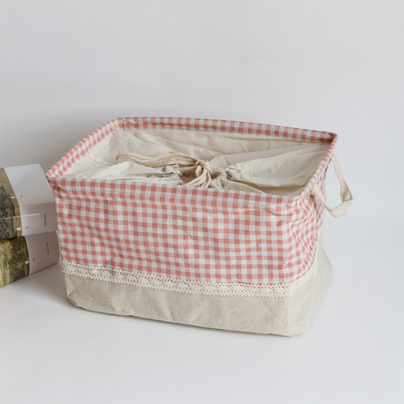 Household Fabric  Modern Style Food Storage Toy Bag with Hands