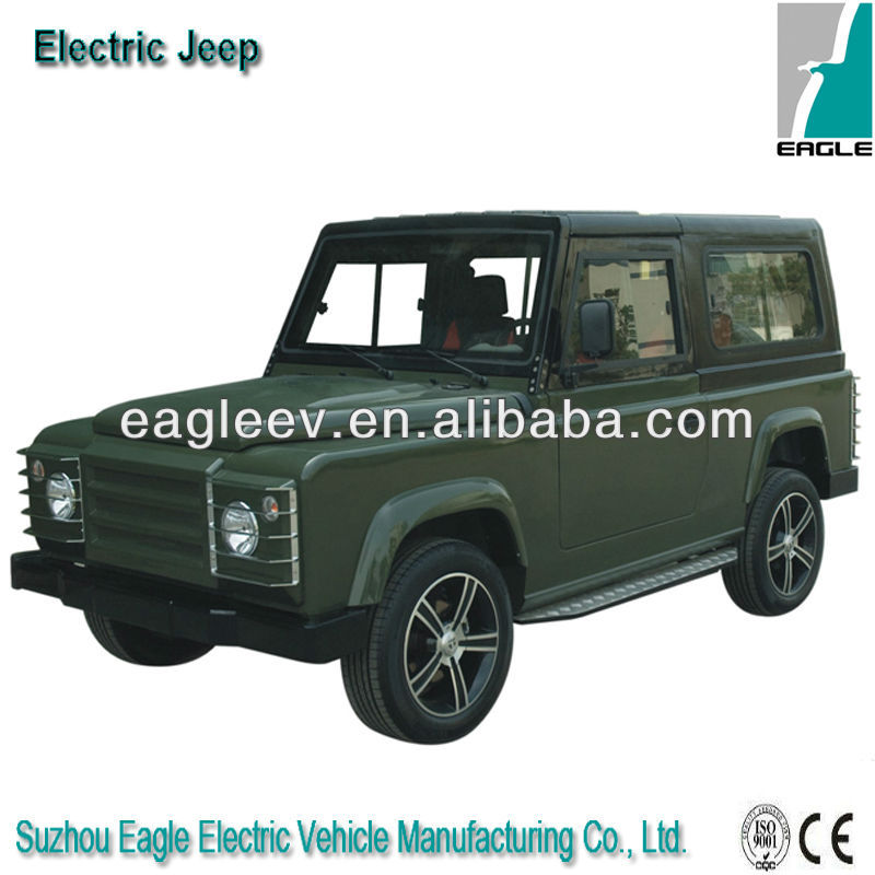 jeep挅ce�^h�^K�p_strong shape electric jeep, 5 seats, ce approved