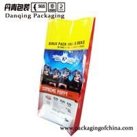 Customized PET food packaging bag for 20KGS dog food