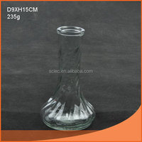 Top level hot sell jade glass vase
