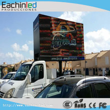 Outdoor Waterproof P5 P6 P8 SMD Truck Mounted led display/Trailer Mounted Led screen /Car Advertising Display