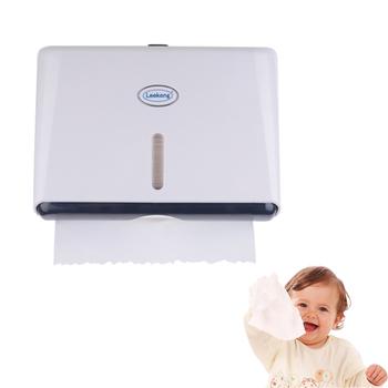 Bathroom Wall Mounted Plastic Folded Paper Towel Dispenser Buy Bathroom Pap
