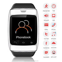 New bluetooth watch mp3 player wireless smart phone top sale