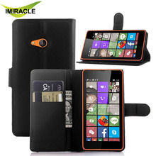 Best Selling Leather Wallet Case with Stand Flip Back Cover For Nokia Lumia 540 Cell Phone Bag