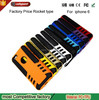 China Supply Custom Made Mobile Phone Case for iPhone6 radiating cover rocket pattern case for iphone 6