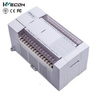 40 I/O programer china plc with free plc programming software of Wecon
