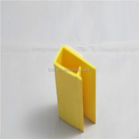 PVC plastic price label channel for shelves LC-234