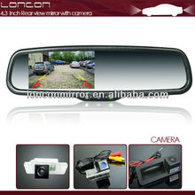 International class car rearview mirror with temperature, compass and auto dimming special for Citroen, Smart Roadster
