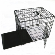 fold wire eco-friendly fancy double door dog kennel dog cage