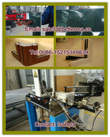 PVC UPVC Plastic window door production line machine/UPVC PVC color profile window welding and cleaning machine (HSWF-01)