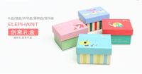 Small Cute Gift Box Storage Candy Snacks Paper Cardboard Box Fresh Wholesale Custom Fashion Design Paper Gift Box Packaging