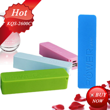Best for gift low price Perfume 2600mAh poop power bank