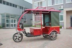 Hot sale 60V 1000W E rickshaw for passenger for southeat Asia market