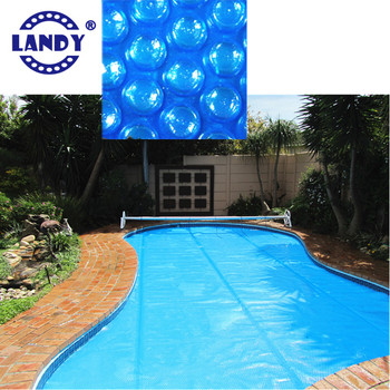flat strip welded swimming pool cover, solar cover,bubble air wrap ...