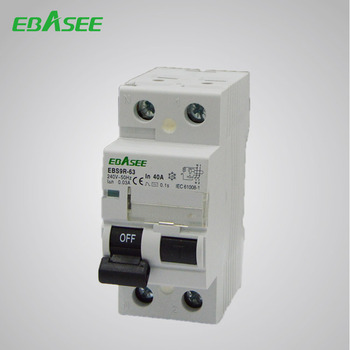 Leakage Protective RCCB Electrical Residual Current Micro Mccb Circuit Breaker