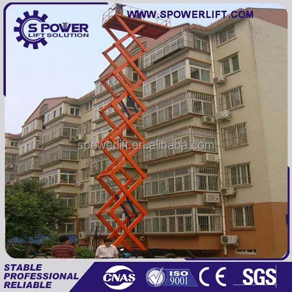 Best price China hydraulic mobile electric residential scissor lift tabel for sale