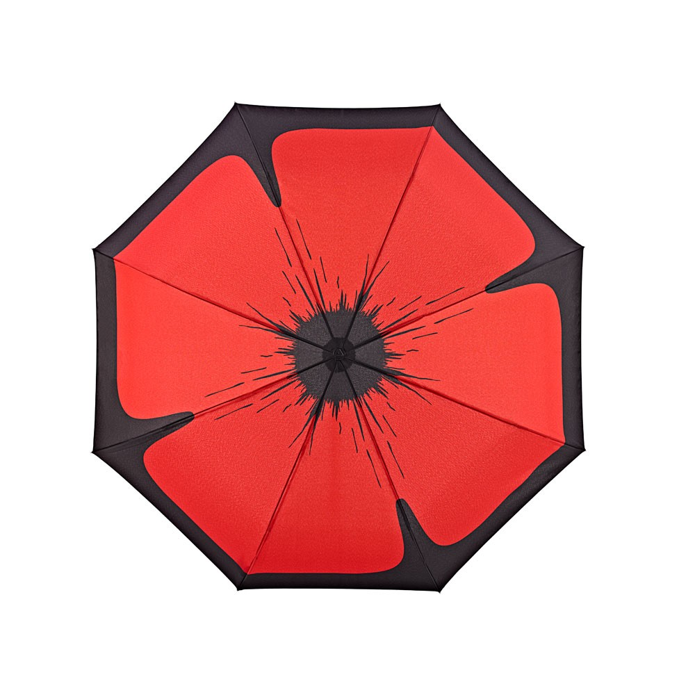 2017NEW invention hot sales poppy straight umbrella for girl