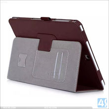 Card slot protective leather case for SAMSUNG Galaxy TAB S2 9.7