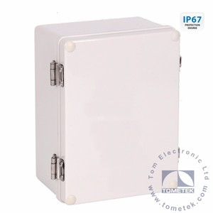 outdoor hinge type plastic polycarbonate enclosure ip65