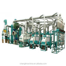 stainless steel 20-500 ton per day automatic flour mill machine
