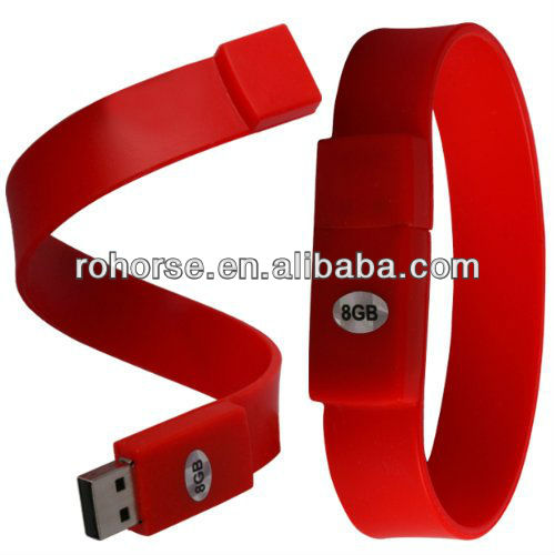 8GB Bracelet USB 2.0 Flash Drive Memory Stick Pen Device -man of steel usb flash drive