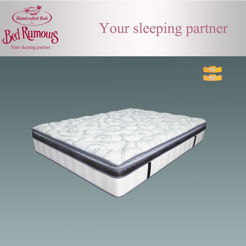 Budget queen size continuous spring cheap mattress