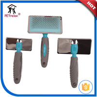 pet grooming tools dog slicker brush comb