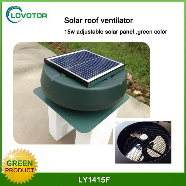 Energy saving Axial Flow Fan Solar Roof Mounted Air Ventilator