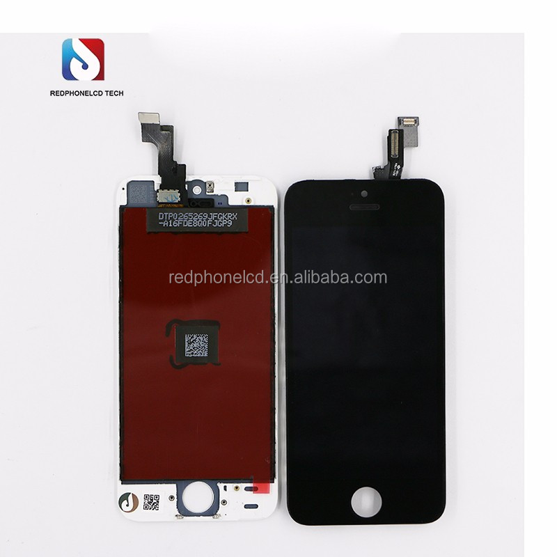 High quality mobile phone LCD screen for 5s from REDPHONELCD whosales manufacturer