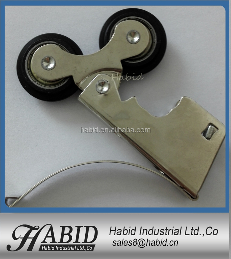 Many kinds Door and Window Roller zamak plating Track roller Sliding Door Bottom Roller Wheel