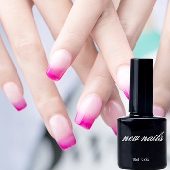 private label makeup soak off uv gel nail polish temperature changing gel for nail products