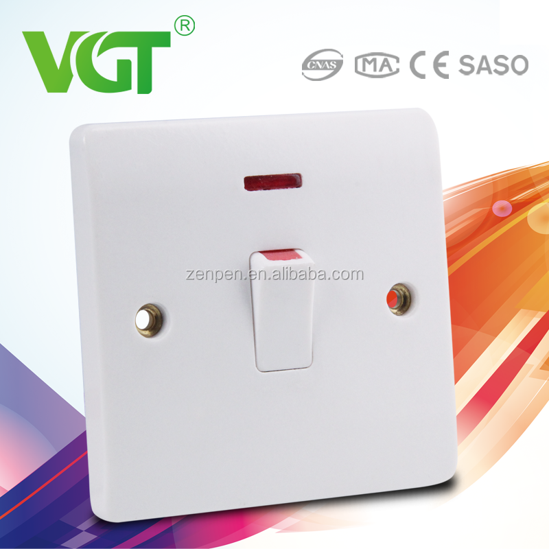 Green and eco-friendly no light pollution italy range switches and sockets