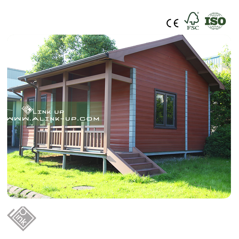 WPC Outdoor Prefabricated Fashion Wooden House