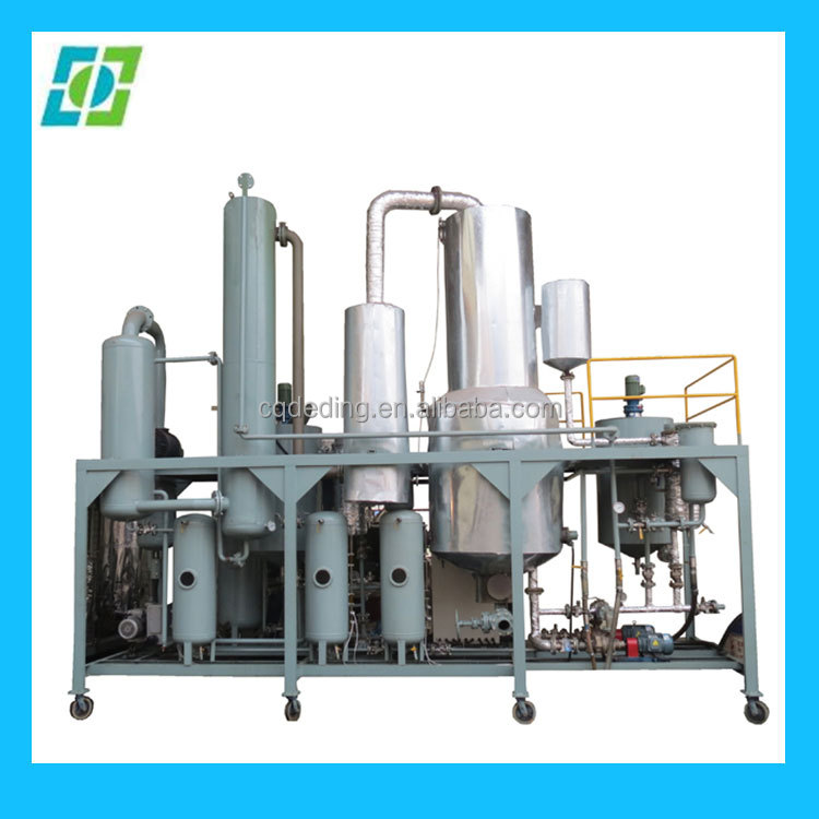 Black Oil Refinery System,Biodiesel Oil Purifier Machine, Oil Distillation System