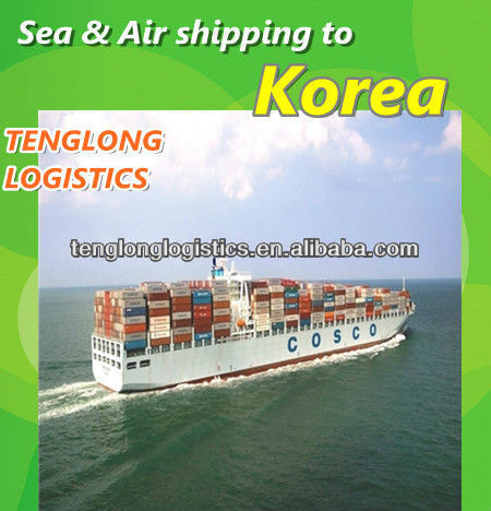 Top 10 international shipping company in China to Busan and Inchon of South Korea from Shenzhen Shanghai Ningbo