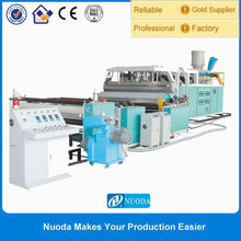 plastic PP film extruder machine for food packing